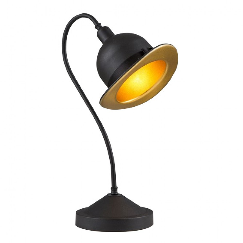 Avonni Siyah Kovboy Şapkası Masa Lambası ml-4093-cowboy-sy
