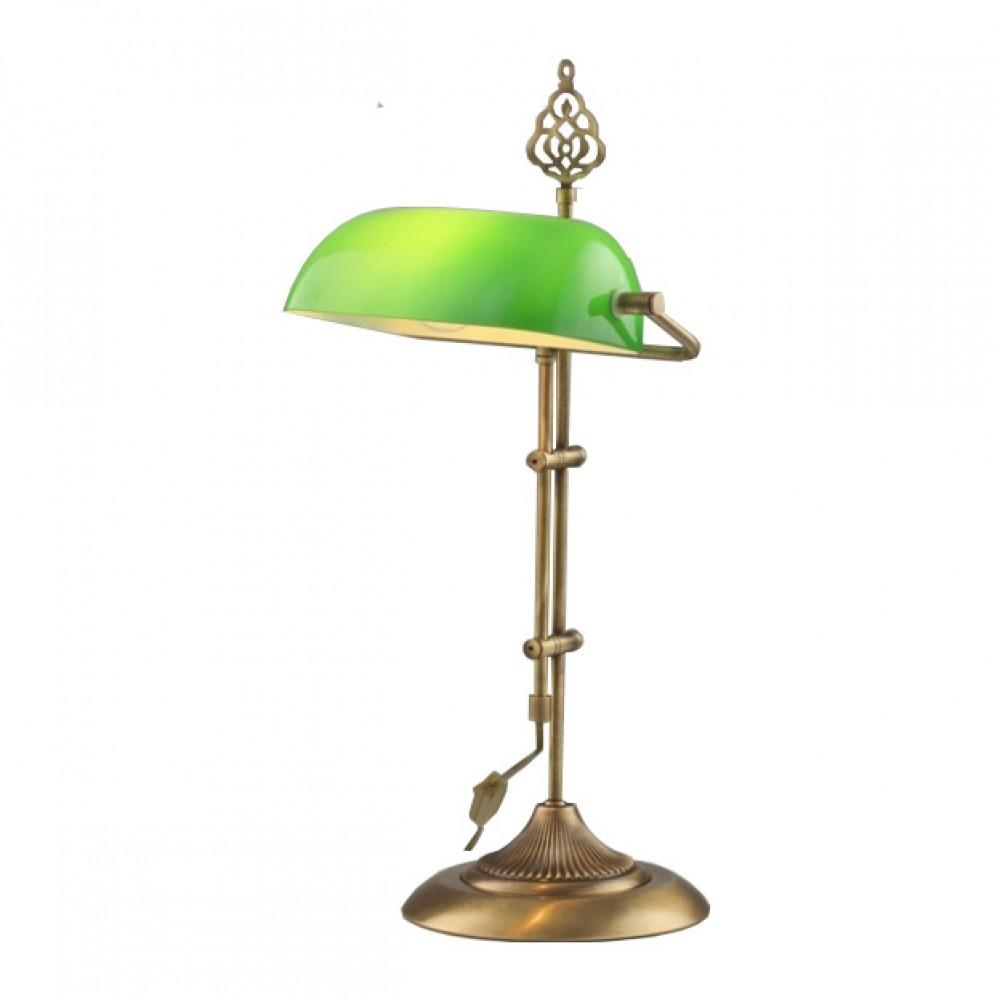 Avonni Klasik Tarz Yeşil, Eskitme Masa Lambası ml-9063-green