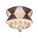 LED li 40 cm'lik Tavana Yapışık Modern Avize - 51386-40-C04-CF
