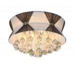 LED li 50 cm'lik Tavana Yapışık Modern Avize - 51386-50-C04-CF