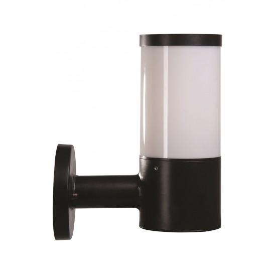 Avonni BAP-68137-BSY-M2 Siyah Boyalı Dış Mekan Aydınlatma E27 Aluminyum Polikarbon Cam 24cm