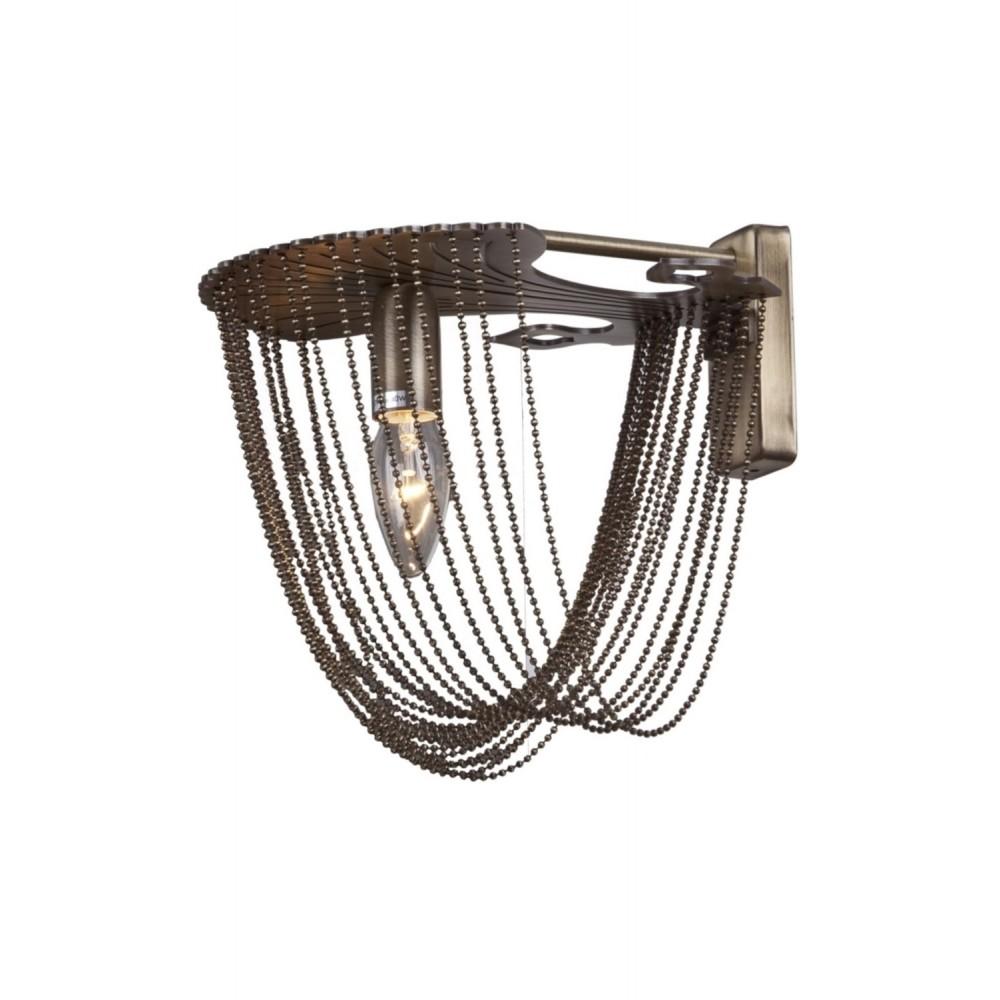 Avonni AP-1417-1E Eskitme Kaplama Bir'li Metal, Zincir Aplik