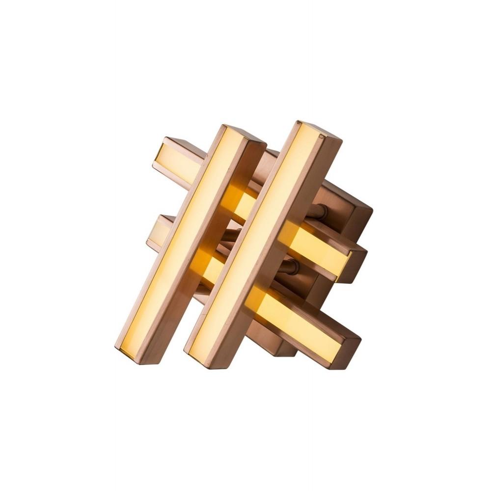 Avonni AP-1571-C25 Bakır Kaplama Bir'li Metal, Pleksi Aplik