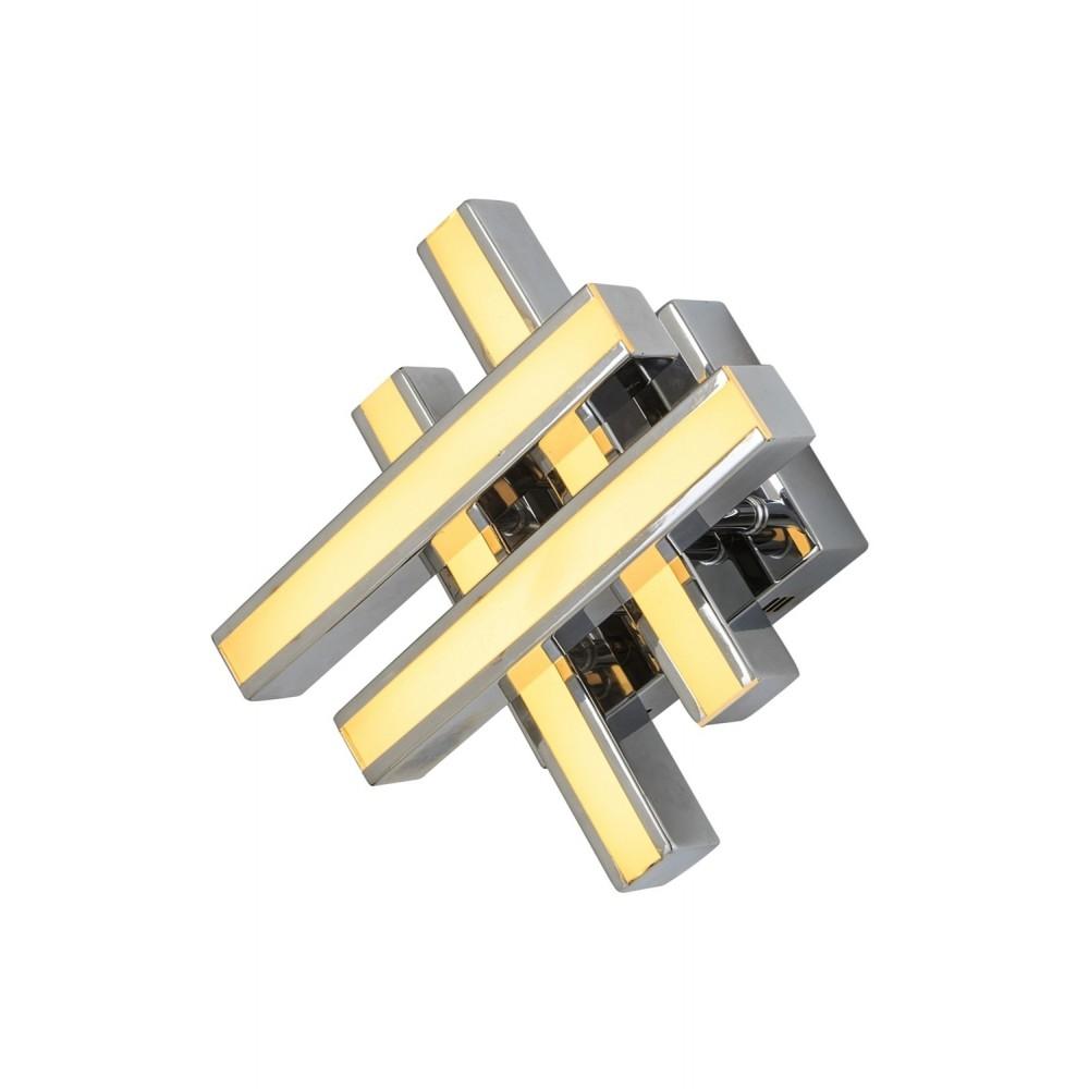 Avonni AP-1571-K25 Krom Kaplama Bir'li Metal, Pleksi Aplik