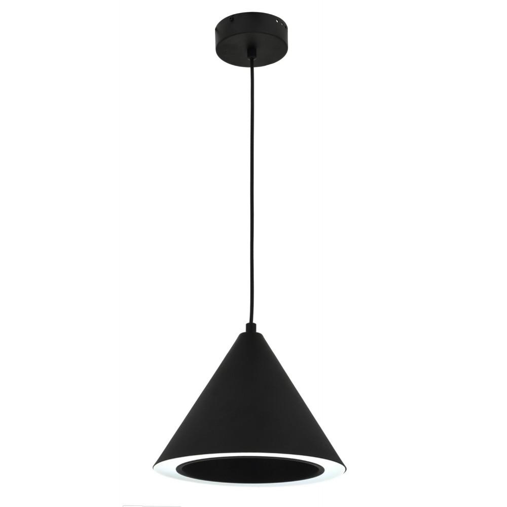 Avonni AV-1645-BSY Siyah Boyalı Bir'li Metal, Pleksi Modern Avize