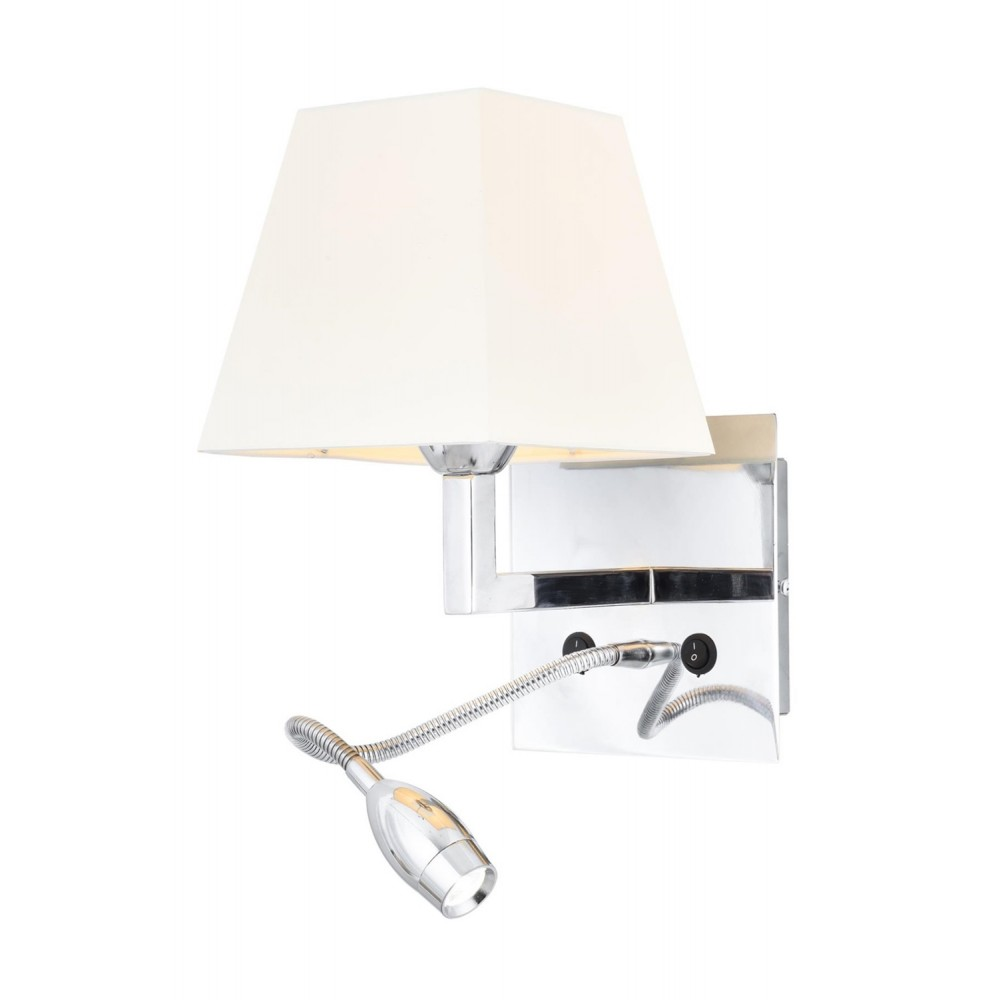 Avonni HAP-9064-LED Krom Kaplama Bir'li Metal Aplik