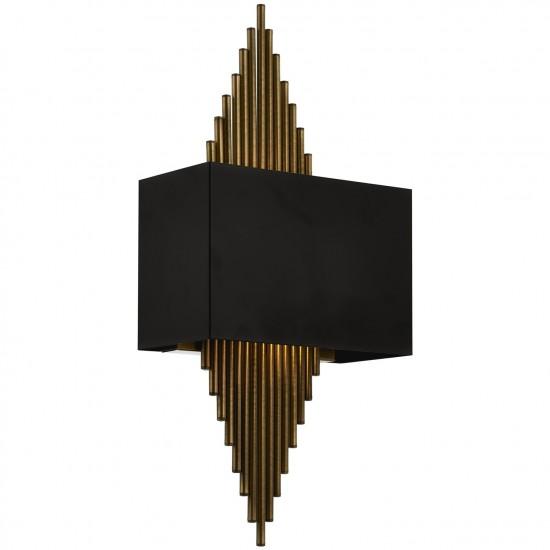 Avonni AP-62175-01 Siyah Boyalı Aplik
