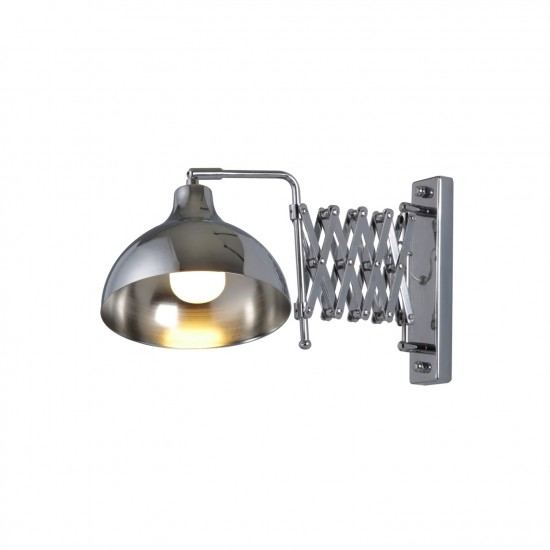 Avonni HAP-9082-K Krom Kaplama Aplik E27 Metal 22x45cm